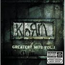 korn - greatest hits vol. 1 CD + DVD 2004 epic sony used mint