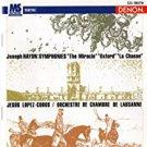 joseph haydn symphonies 96, 92, & 73 - lopez-cobos + orchestre de chambre de lausanne CD 1998 denon