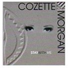cozette morgan - stay with me CD 1995 nina reocrds 11 tracks used mint