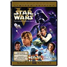 star wars V - empire strikes back DVD 2-discs 2006 widescreen limited edition 129 mins used mint