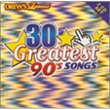 drew's famous 30 greatest 90's songs - various artists CD 2-discs 2001 turn up the music used mint
