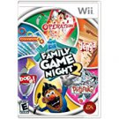 hasbro family game night 2 - nintendo wii 2009 E used mint
