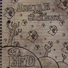 adrian and the sickness - B.F.D. CD 2009 fan tom 12 tracks used mint