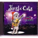 jingle cats - here comes santa claws CD 1994 jingle cats used mint