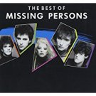 missing persons - best of missing persons CD 1987 capitol 15 tracks used mint