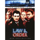 law & order second year DVD 3-discs 2004 universal used mint