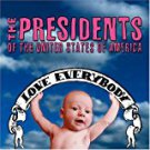 presidents of the united states of america - love everybody CD 2004 pusa 14 tracks used mint