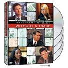 without a trace complete first season DVD 4-discs 2004 warner used