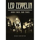 led zeppelin - good times bad times DVD 2-discs 2014 pride 161 minutes used