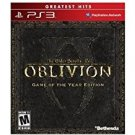 playstation 3: the elder scroll IV oblivion game of the year edition M used mint