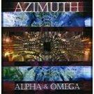 azimuth - alpha & omega CD 1999 azimuth music 13 tracks used mint