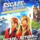 escape to witch mountain + return from witch mountain DVD 2006 disney used mint