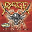 rage - best of - all G.U.N. years CD 2001 GUN BMG 14 tracks used mint