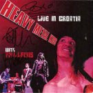 heavy metal kids - live in croatia with phil lewis CD 2012 heavy metal kids 16 tracks used mint