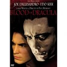 blood for dracula - joe dallesandro + udo kier DVD 1974 103 mins used mint