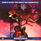 rock n roll era - axes & saxes: great instrumentals CD 1991 warner time life used mint
