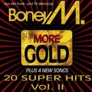 boney m - more gold: 20 super hits vol. II CD 1993 BMG ariola used mint