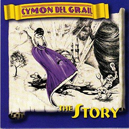 cymon del grail - the story CD 1994 TBA entertainment 11 tracks used mint