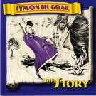 cymon del grail - the story CD 1994 TBA entertainment 11 tracks used mint