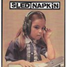 sled napkin - sled napkin CD 12 tracks used mint