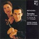 beethoven sonates pour violon et piano nos 7, 8, & 9 - charlier + engerer CD 1996 harmonia mundi new