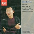Beethoven Piano Sonatas Nos. 26, 21, & 23 - melvyn tan CD 1991 EMI used mint