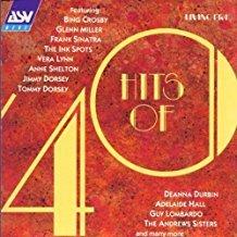 hits of 40 - original mono recordings - various artists CD 1992 ASV living era used mint