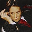 k.d. lang - drag CD 1997 warner 12 tracks used mint