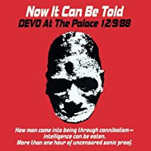 devo at the palace 12/9/88 - now it can be told CD 1989 enigma restless 15 tracks used mint
