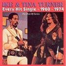 ike & tina turner - every hit single 1960 - 1974 CD 2000 AIM 22 tracks used mint
