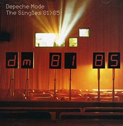 depeche mode - singles 81 > 85 CD 1998 reprise mute 17 tracks used mint