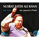 nusrat fateh ali khan - en concert a paris vol. 3-4-5 CD 3-discs 1989 harmonia mundi used mint