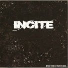 incite - divide we fall CD ep 3 tracks 2008 used mint