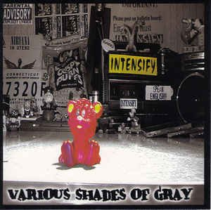 intensify - various shades of gray CD sbe records 14 tracks used mint