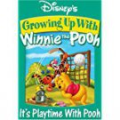 growing up with winnie the pooh - it's playtime with pooh DVD 2006 disney 59 mins used mint