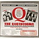 the quotations - 40 years of doo wop and friendship CD 2000 kasha music 21 tracks used mint