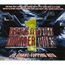 reggaeton number ones - 25 chart-topping hits 3CDs 2006 machete music used mint