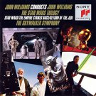 john williams conducts john williams: star wars trilogy CD 1990 sony 13 tracks used minf