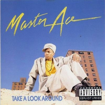 master ace - take a look around CD 1990 reprise cold chillin' 15 tracks used