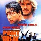 point break - patrick swayze + keanu reeves DVD 2001 20th century fox enhanced widescreen used mint