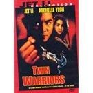 twin warriors - jet li + michelle yeoh DVD 2000 dimension 93 mins R used mint