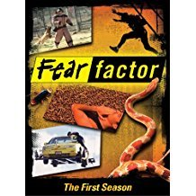fear factor first season DVD 2-discs 2006 universal used mint
