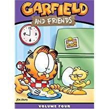 garfield and friends volume four DVD 2005 3-discs 20th century fox new