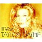 taylor dayne - i'll wait CD 1994 arista 5 tracks used mint