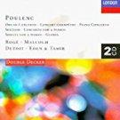 Poulenc - Organ Concerto; Gloria; Sextuor; Concerto for 2 Pianos; Piano Concerto etc 2CDs