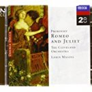 prokofiev - romeo and juliet - cleveland orchestra + maazel CD 2-discs 1998 decca
