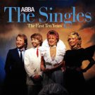 abba - the singles: first ten years CD 2-discs polydor germany 23 tracks used mint