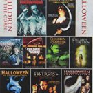 children of the corn + halloween 9-film collection DVD 3-discs 2012 echo bridge miramax used mintd