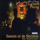 brotha lynch hung - season of da siccness the resurrection CD 1995 black market 18 tracks used mint