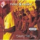 too $hort - shorty the pimp CD 1992 zomba jive 11 tracks used mint